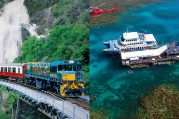 Kuranda (Skyrail & Train) + Sunlover Moore Reef - 2 Day Package