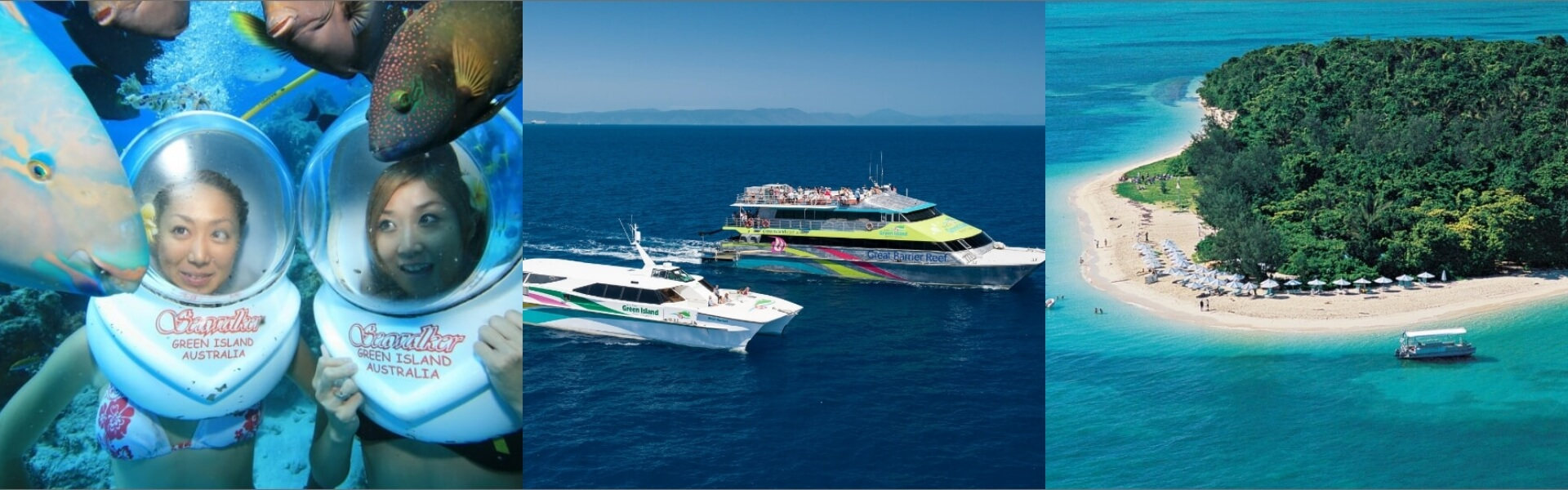 Bigcat Green Island Cruises