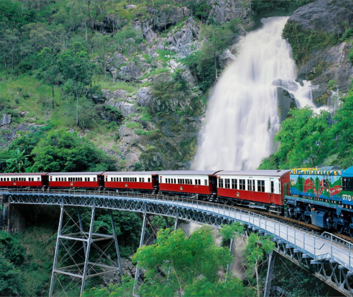 Kuranda (Skyrail and Train with Accommodation Transfer)