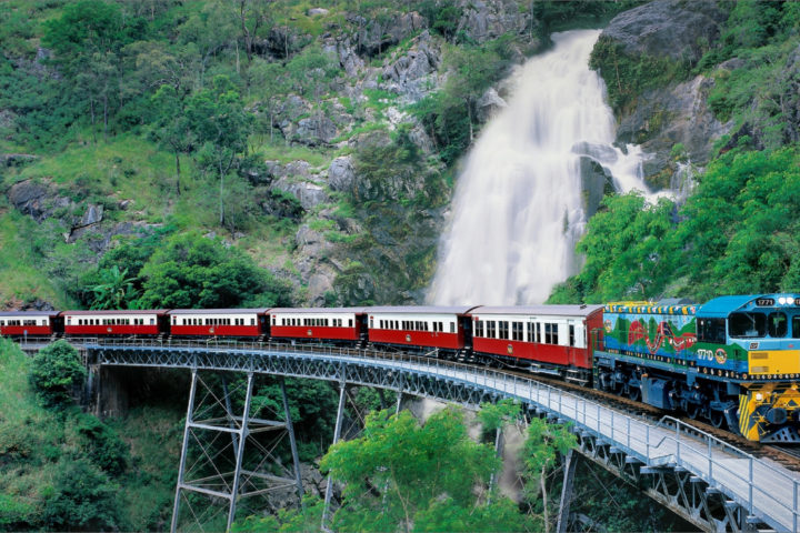Kuranda (Skyrail and Train with Accommodation Transfer)