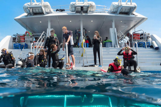 Overnight Diving Trips and Open Water Licence